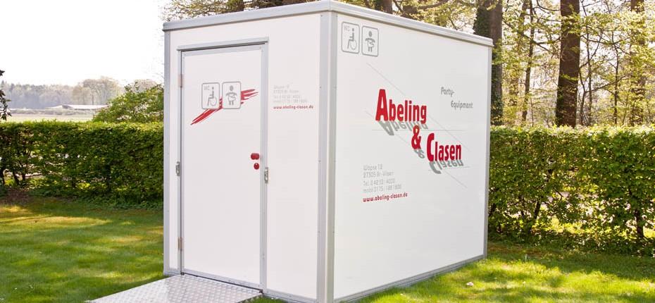 Toilettenwagen Abeling-Clasen