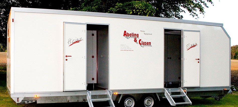 Toilettenwagen Typ-2 Abeling-Clasen